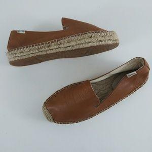 Soludos Leather Espadrilles